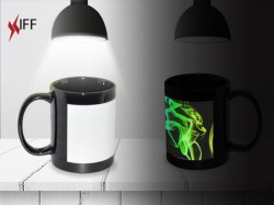 Black Luminous Mug - Raw Materials - Innovative Fittings