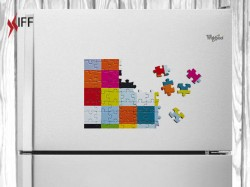 Puzzels White Color with Magnet A5 - Raw Materials - Innovative Fittings