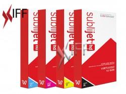 Sublimation Ink CMYK Package - VJ 628 IFF
