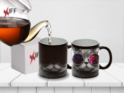 Sublimation Color Changing Mug BLACK (matte) - Raw Materials - Innovative Fittings