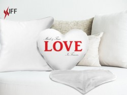 Cushion / Pillowslip HEART shape - Raw Materials - Innovative Fittings
