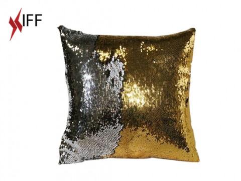 Square Golden Glitter Sublimation Pillowcase - 5 pcs