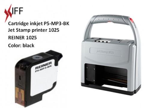 Black ink - REINER 1025 - metal & plastic