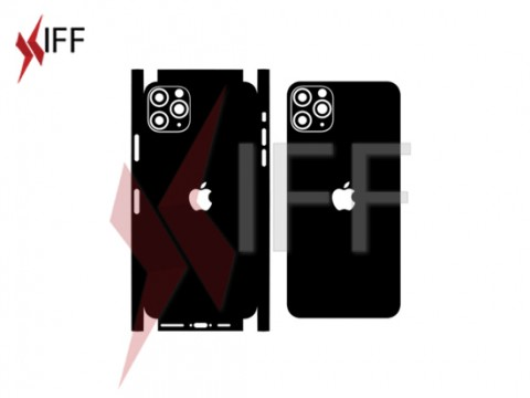 Skin Vector Cut design file  - IPhone 11 pro max