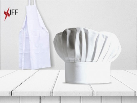 Chef Hat and Apron - Raw Materials - Innovative Fittings
