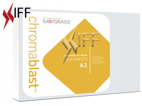 Chromablast Media Sublimation Paper A3 IFF