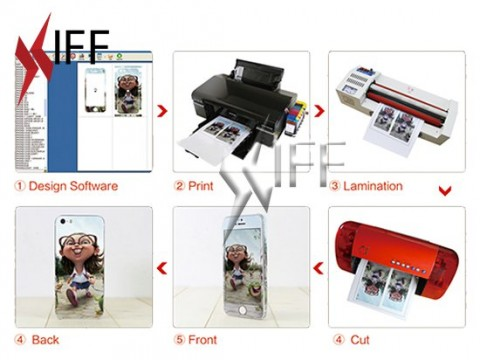 Mobile Sticker Machine Package MP700 IFF