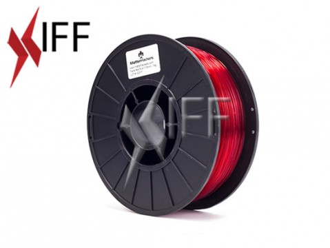 PLA: Translucent Red: 3mm