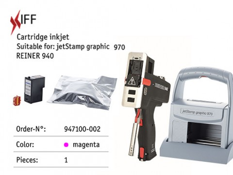 REINER 940/970 Magenta Ink for Paper or Cardboard - Innovative Fittings