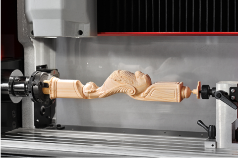 Desktop 3 Axis Cylinder CNC Router