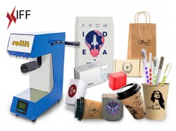 ماكينة طباعة الأكواب الورقية والأكياس والأقلام والهدايا رولت