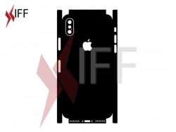 ملف تصميم لاصق حماية - جوال أيفون إكس