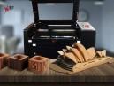 ماكينة الحفر والنقس بالليزر على الخشب - التجهيزات المبتكرة