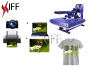 المكبس الحراري KTS للطباعة على التيشيرتات والدروع والأقمشة والخداديات والبزل - التجهيزات المبتكرة