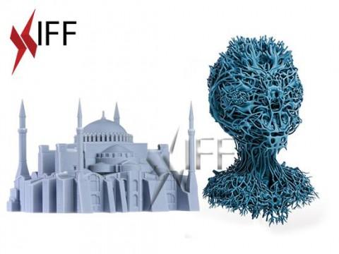 طابعة 3D موديل D4X طباعة لون واحد