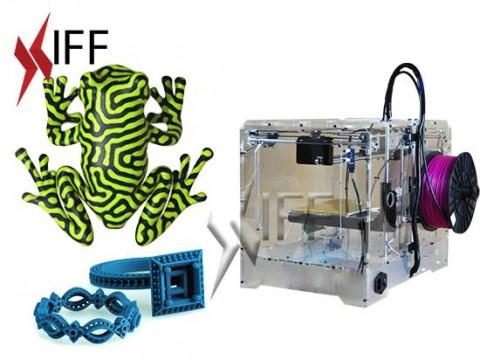 طابعة 3D موديل D4X طباعة لونين
