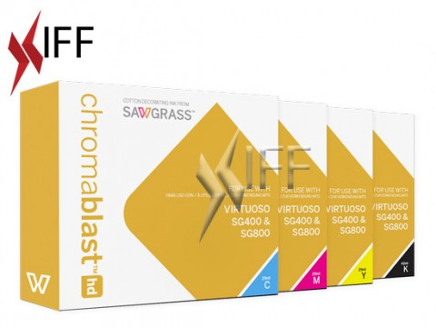 Chromablast-HD ink CMYK Package - SG400/800 IFF