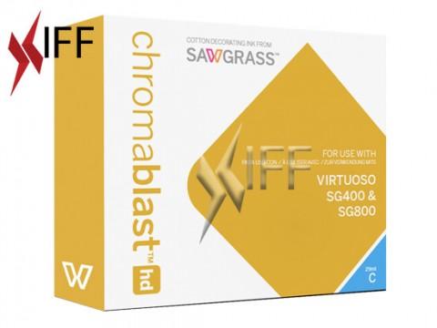 Chromablast-HD ink Cyan 29 ml for Sawgrass SG400/800 IFF