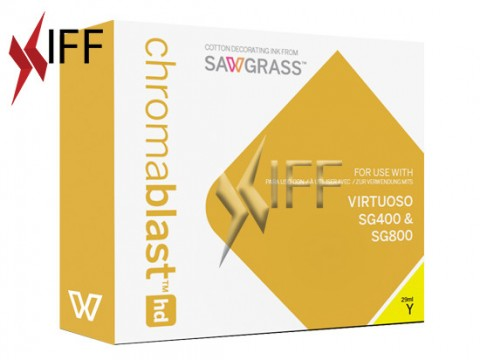 Chromablast-HD ink Yellow 29 ml for Sawgrass SG400/800 IFF