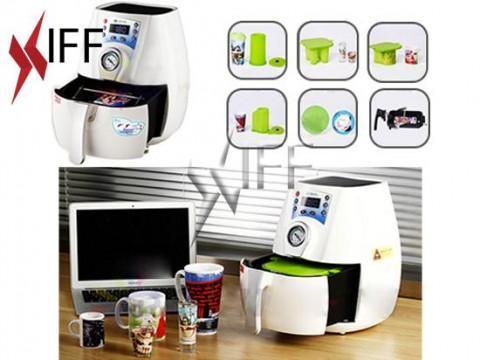 K3D S ماكينة الطباعة الحرارية الحجم الصغير للأكواب وكفرات الجوال والصحون - التجهيزات المبتكرة