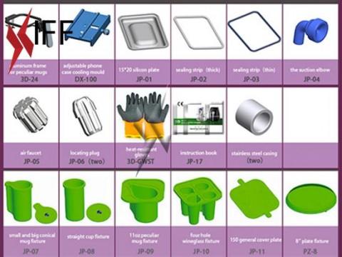 KT3D ماكينتين الطباعة الحرارية الحجم الوسط