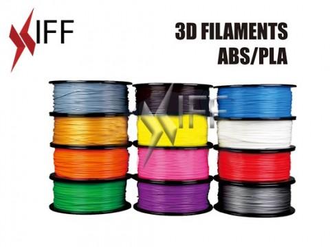 مادة PLA: شبه شفاف أزرق: ٣مم