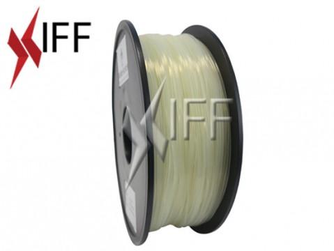 مادة PLA: أبيض شبه شفاف: ١.٧٥مم