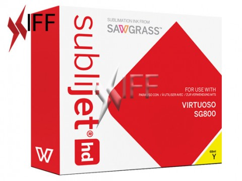 Sawgrass SG 800 Printer with Set of Sublijet-HD ink CMYK IFF