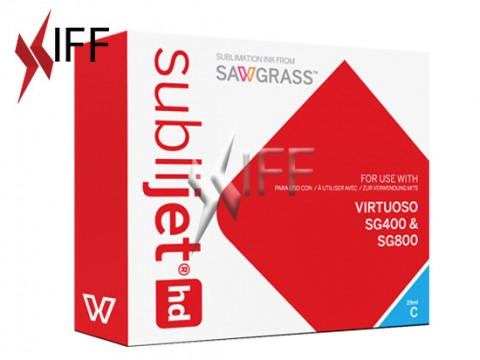 Sublijet-HD Sublimation Ink Cyan for Sawgrass SG400/800 IFF