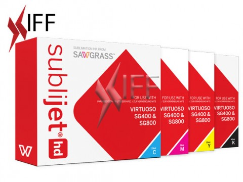 Sublimation Ink CMYK Package - SG400/800 IFF