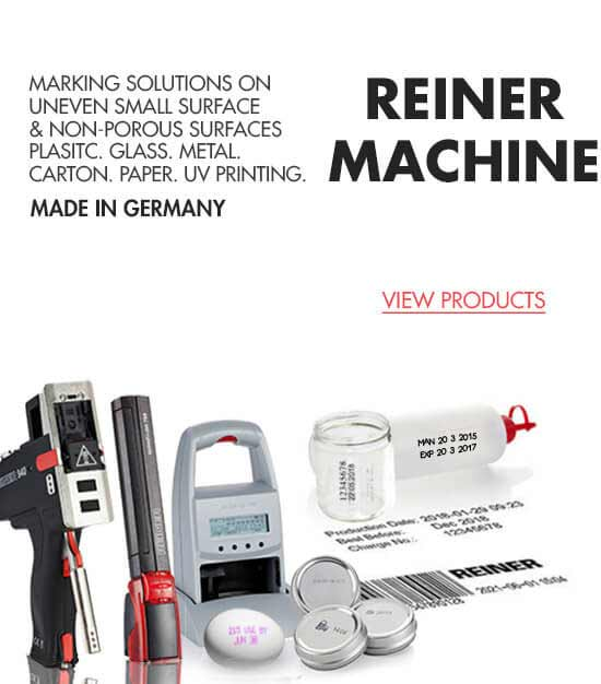 REINER Marking Solutions Machines Innovative Fittings