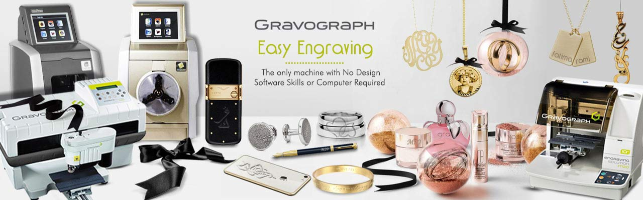 Gravograph Propen France cut engrave machine jewels accessories - Innovative Fittings