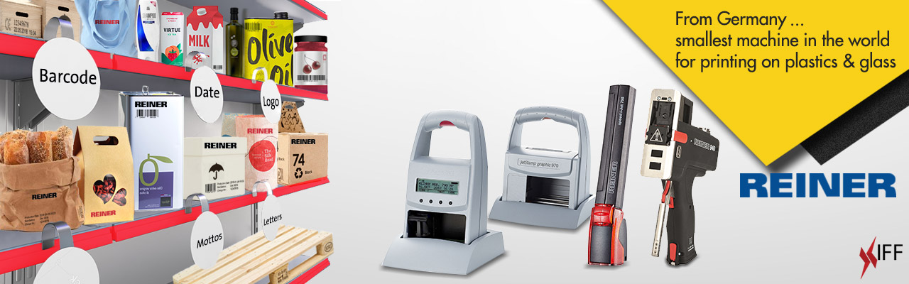 REINER Expiry Date Printing Machine Made in Germany - Innovative Fittings